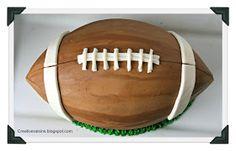 Creative Raisins: Football Cake