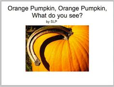 Orange pumpkin, Orange Pumpkin--download book and icons