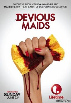 New show Devious Maids: Eva Longoria as the producer and Desperate Housewives creator Marc Cherry