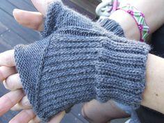 fingerless Automne - je tricote quand j ai le temps