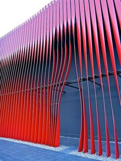 Nebuta House, Aomori, Japan, bymolo design. représentation défaut cristallin
