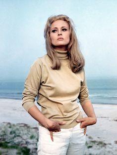 Faye Dunaway. Thomas Crown Affair. 1968.