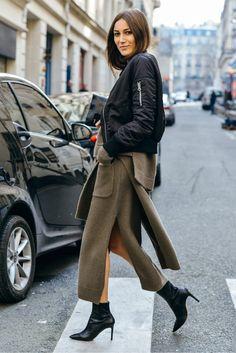 How to wear a bomber jacket like a street style star - LaiaMagazine