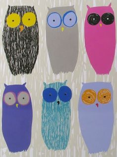 by Print & Pattern. #owl