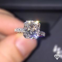 Wedding Rings: Choosing the Perfect Wedding Ring - Put the Ring on It Dream Engagement Rings, Wedding Engagement, Wedding Bands, Wedding Ring, Princess Wedding, Dream Wedding, Cushion Cut Engagement, Solitaire Engagement, Bling Bling