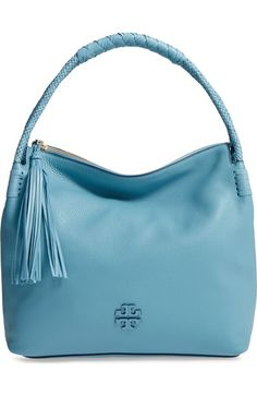 c057be4ac69a TORY BURCH Taylor Leather Hobo Bag.  toryburch  bags  shoulder bags  leather