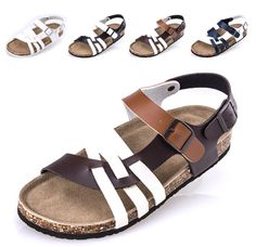 Mens Sandals Genuine Leather Summer Fashion Men Zapatillas