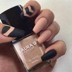 Pin for Later: 30 Manicure Ideas That Will Make You Mad For Matte