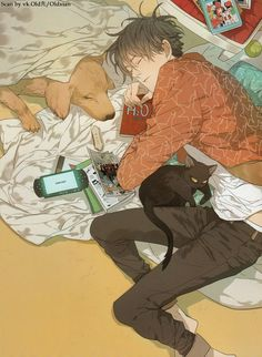 Illustration by Old Xian.
