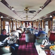 To ride on the Flying Scotsman, a luxury train experience through Scotland.