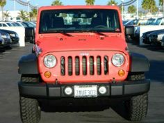 2013 Jeep Wrangler 4WD 2dr Rubicon  LOVE this coral color