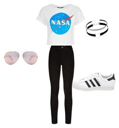 """""""Untitled #33"""" by dmsquared525 on Polyvore featuring Paige Denim and adidas"""