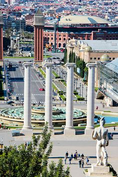 Magic Fountain of Montjuic - Barcelona, Spain
