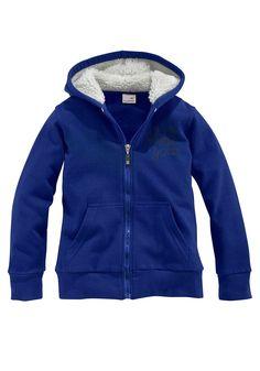 Produkttyp , Sweatjacke, |Qualitätshinweise , Hautfreundlich Schadstoffgeprüft, |Materialzusammensetzung , Obermaterial: 100% Baumwolle. Kapuzenfutter: 100% Polyester, |Material , Baumwolle, |Farbe , Royalblau, |Passform , Basic-Form, |Schnittform/Länge , hüftbedeckt, |Ausschnitt , Kapuze, |Kapuze , Teddyfutter, |Verschlussart , Reißverschluss, |Ärmelstil , Langarm, |Armabschluss , Bündchen, |T...