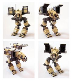 Battletech Mechwarrior Catapult in LEGO