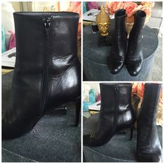 simple bootie calf VIP 'HP'CL's!! Love them just have several pairs I just don't get to wear they are extremely cared for and comfortable tags, box, dust bag Christian Louboutin Shoes