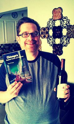 """Celebrating the arrival of """"Chicago's Unsolved Crimes and Mysteries"""" - Copies Arrive and So Does Wine"""