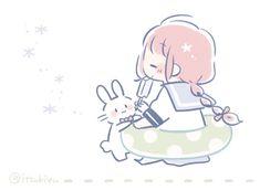 ┗┃kisawa┃┓【sundo ni naru】『alice cafe』●F. Cute Chibi, Cinderella, Disney Characters, Fictional Characters, Alice, Pastel, Kawaii, Disney Princess, Drawings