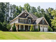 House and landscaping.  Garner NC