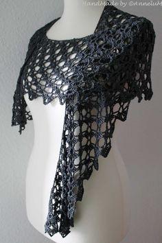Das Tuch Celair, Morben Design, Seide. Handmade by AnneluM