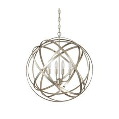 Gaia 4 Light Globe Pendant | Wayfair