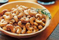 Favorite food gift, rosemary cashews