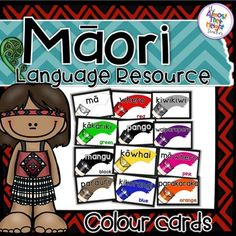 Designed for the New Zealand classroom these posters feature 12 colour words plus 7 alternative colour words and the question and answer promotes for learning how to ask and answer 'What colour is this?' and 'What colour is that' Perfect for Maori Language week or immersion classrooms.