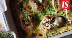 Uunibroileria ja endiivisalaattia sekä vaniljavanukasta – siinä ihana klassikkoillallinen Priscan tapaan! Vegetable Pizza, Quiche, Recipies, Food And Drink, Vegetables, Cooking, Breakfast, Recipes, Kitchen