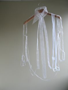 Ying Gao shirt sculpture #art Barely there but instantly identifiable