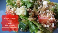 If cooking with quinoa is all Greek to you, follow this simple recipe for a salad that will have you dreaming of a Mediterranean vacation.