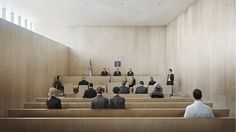 Image 10 of 18 from gallery of Winner Announced for Design of Jerusalem District Courthouse. Courtesy of Studio PEZ and Zarhy Architects Budapest, Melbourne, Masterplan, Contemporary Architecture, Jerusalem, Competition, Photoshop, Studio, City