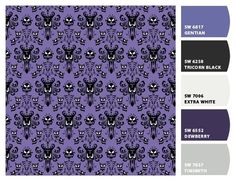 Haunted Mansion Wallpaper To Print On Cardstock To
