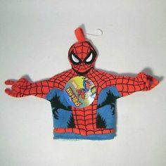 Spider Man Bathroom Items   Spiderman Terry Cloth Bath Wash Mit Puppet    EBay