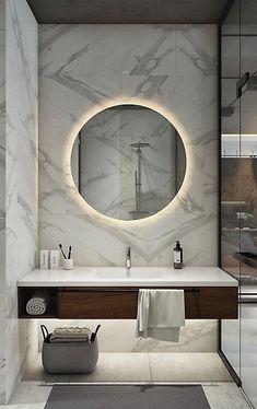 #ruedigerbenedikt #lujo Mármol blanco es la mejor solución para baños que quieren transmitir un lujo intemporal. www.ruedigerbenedikt.com/blog
