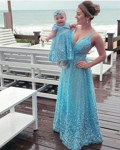 Mommy and Kids Little Girl Outfits, Family Outfits, Little Girls, Wedding Dress, Prom Dresses, Formal Dresses, Baby Dress, Daughter, Mom