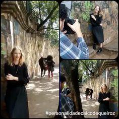 Hoje foi dia de fotos com @carlalamarca (#personalidadecaicodequeiroz) para a @folhadespaulo! Vindo novidades  Ainda é segredo, mas logo conto! Vai dar na Folha #personalidadecaicodequeiroz !#caicodequeiroz #carlalamarca #Tv #apresentadora #atriz