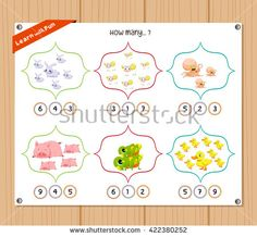 Find Counting Object Kids Education Worksheet stock images in HD and millions of other royalty-free stock photos, illustrations and vectors in the Shutterstock collection. Kids Education, Counting, Worksheets, Royalty Free Stock Photos, Objects, Kids Rugs, Illustration, Early Education, Kid Friendly Rugs