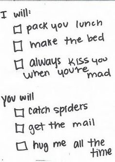 Already got Michael to agree to this <3