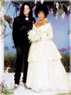 Michael Jackson Elizabeth Taylors Wedding Back In 1991 Uploaded By