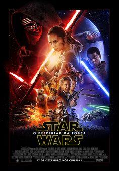 Primeiro cartaz oficial de 'Star Wars - O Despertar da Força', que estreia em 17 de dezembro