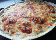 Hungarian Recipes, Hungarian Food, Street Food, Lasagna, Zucchini, Paleo, Food And Drink, Cheese, Chicken