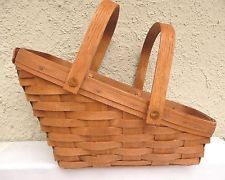 Longaberger Butternut MEDIUM BOARDWALK Take Me Away Basket Liner ~ Brand New!