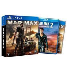 [Bahia] Jogo Mad Max: Edição Especial PS4 + Blu-Ray do filme Mad Max 2 - R$ 101,42 (2xCC)