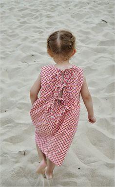 Triple tie summer dress