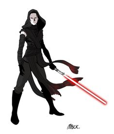 macbethoff: Sith Rey - May the force be with you | starwarsheckyeah