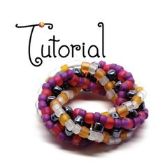gwenbeads: Tutorial -- Twisted Cubic Right Angle Weave