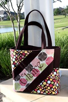 Diagonal Diaper Bag Custom Boutique Sewing Pattern Ebook PDF For Baby or Anyone. $9.95, via Etsy.