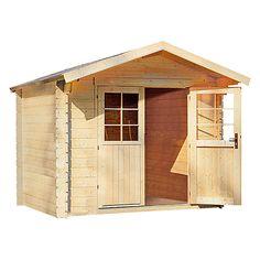 Gartenhaus Fenjes (Holz, Grundfläche 3,4 m², Wandstärke