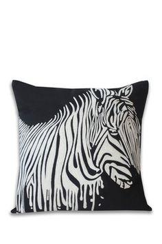 Zebra pillow @HauteLook