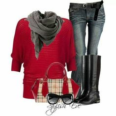 Simple christmas outfit